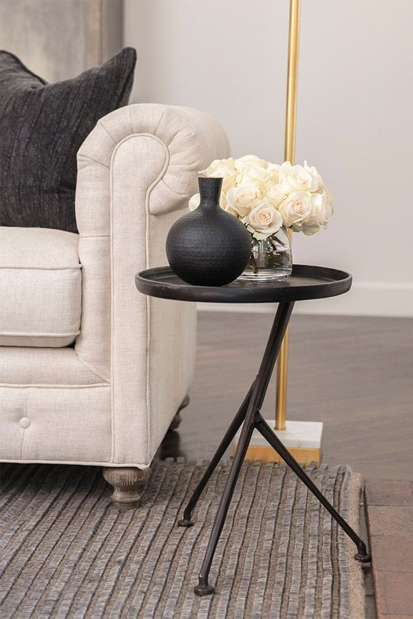 Trae Accent Table Contemporary Decor Living Room Accent Table