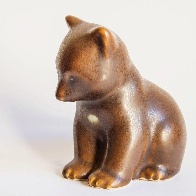 Knud Basse - Danish Stoneware Animal Figurines