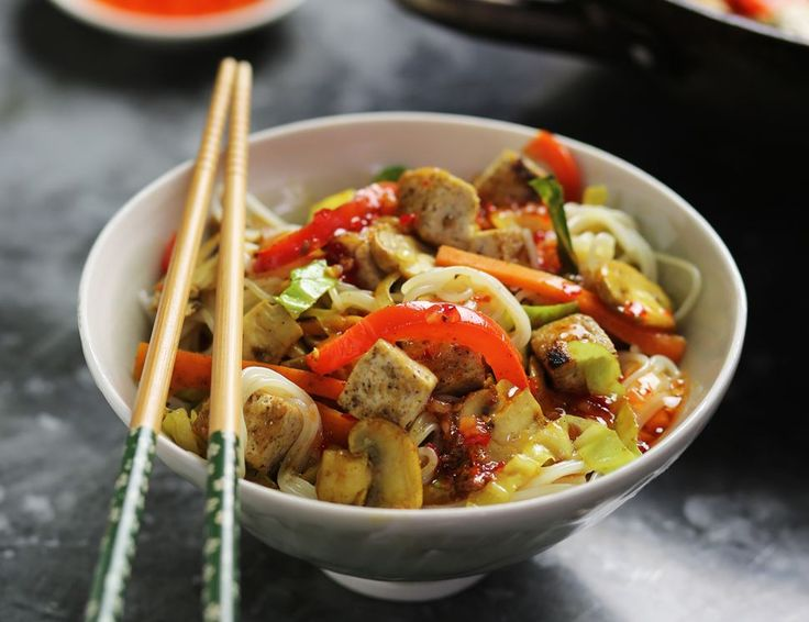 Oodles of Singapore Noodles