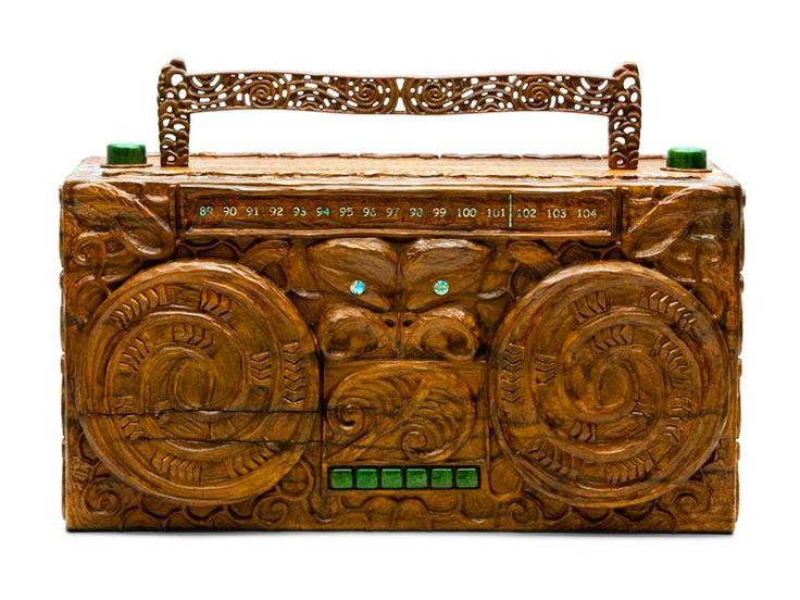 Maori radio created by Weta Workshop for Radio NZ