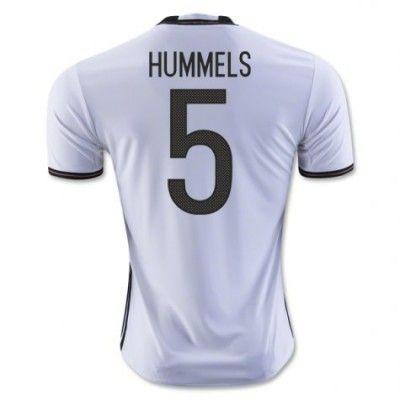 Tyskland 2016 Hummels 5 Hjemmebanetrøje Kortærmet.  http://www.fodboldsports.com/tyskland-2016-hummels-5-hjemmebanetroje-kortermet-1.  #fodboldtrøjer