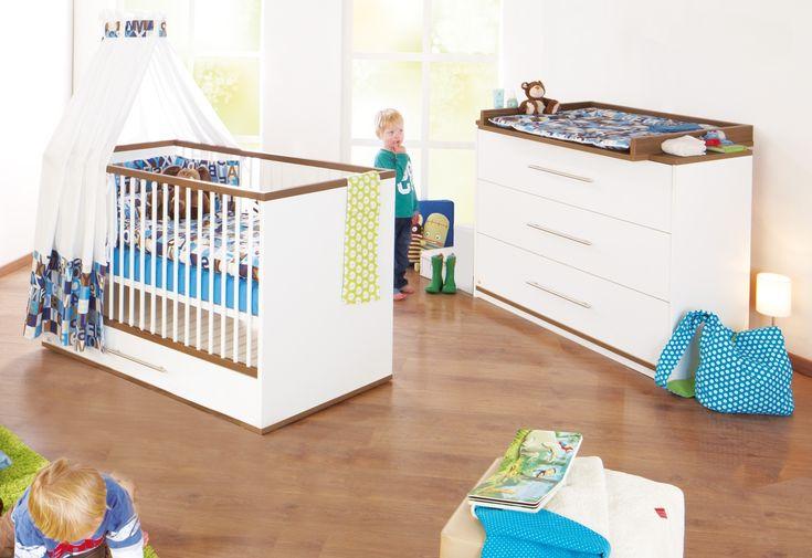 Tuula startkit - Spjälsäng/juniorsäng & skötbord från Pinolino hos ConfidentLiving.se