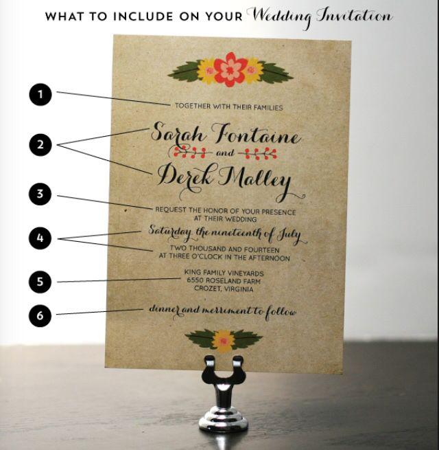 Best 25+ Wedding invitation format ideas on Pinterest Wedding - format for invitation