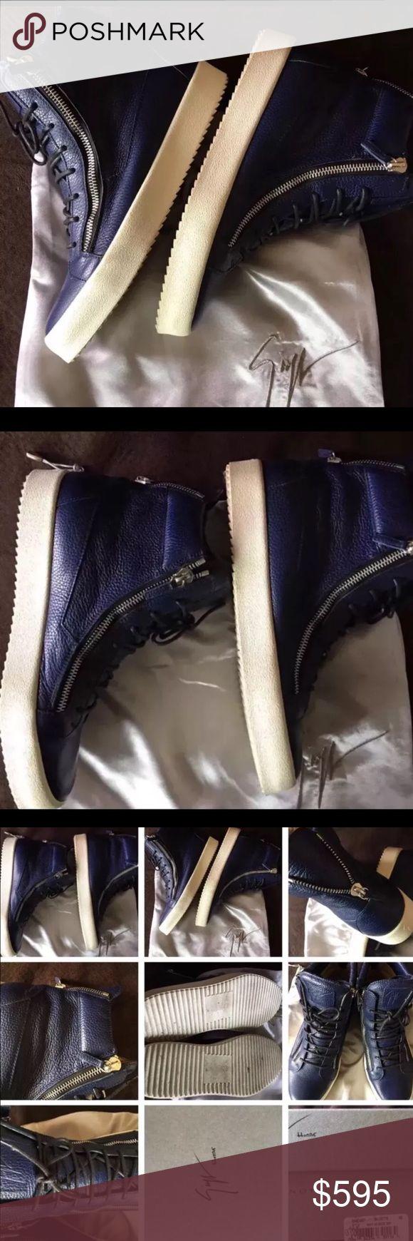 Giuseppe Zanotti Size 48 Men's Worn one time Giuseppe Zanotti Shoes Sneakers