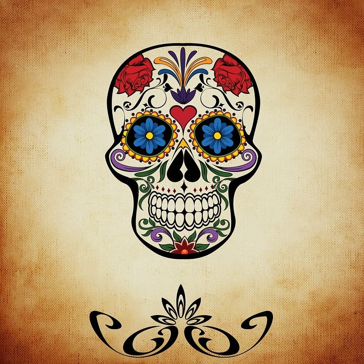 83 best Travaux m images on Pinterest Mexican skulls, Day of dead - Dessiner Maison D Gratuit