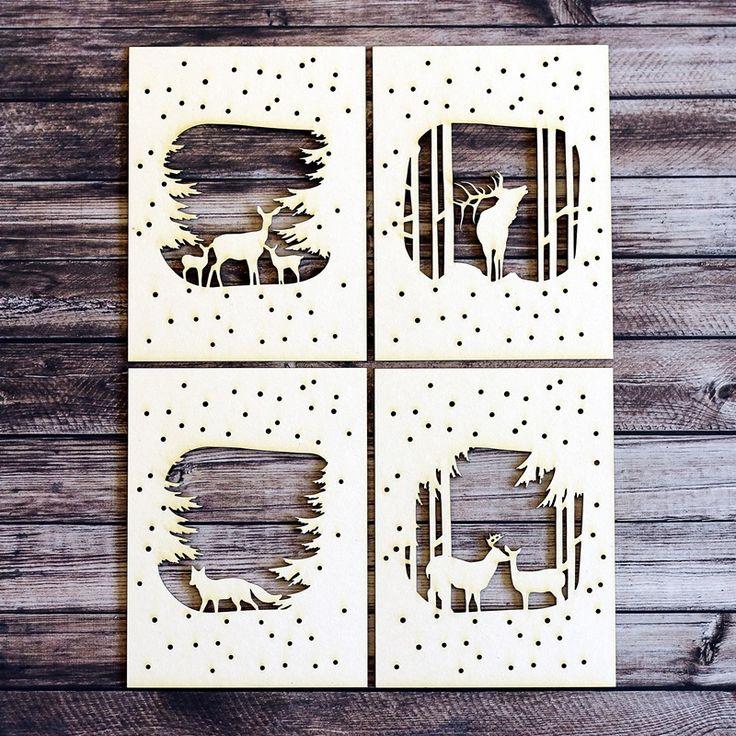 NőiCsizma | Téli erdő kártyacsomag