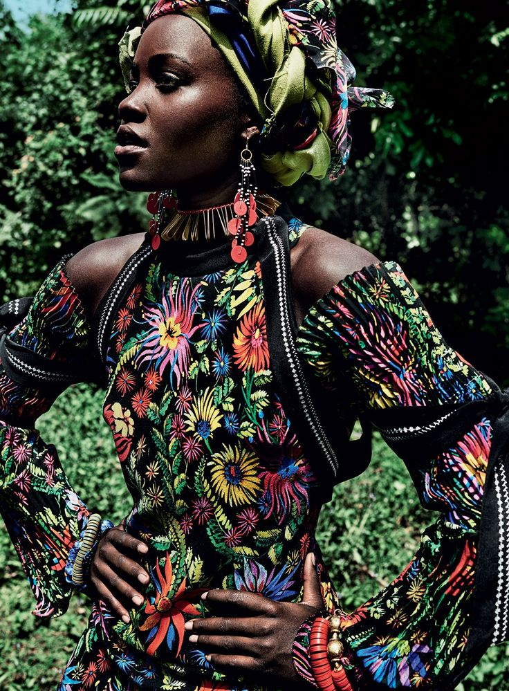 Lupita Nyong'o stars on the cover of Vogue's October issue! Photographed by…