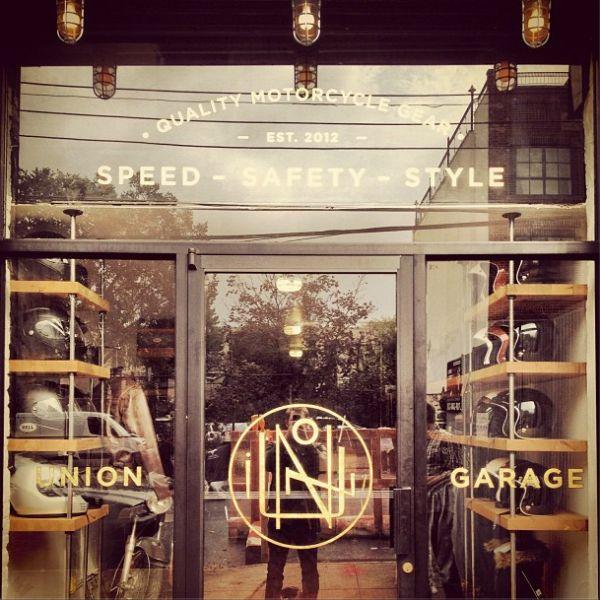 European store fronts | New York City Gets a Dedicated Motorcycle Gear Shop – Moto Borgotaro