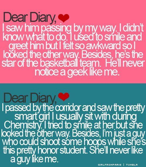 This is how i feel about my crush (first one) and i wish the second one was what my crush thought....