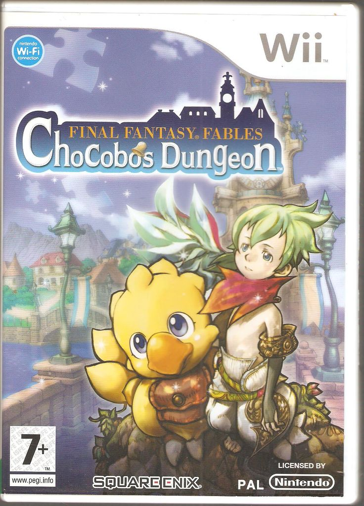 Final Fantasy Fables. Chocoboc Dungeon.