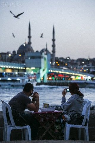 Galata Bridge, Istanbul ,Turkey http://www.yourcruisesource.com/two_chefs_culinary_cruise_-_istanbul_to_athens_greek_isles_cruise.htm