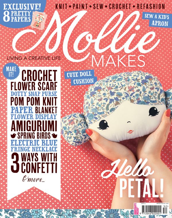 Your project templates for Mollie Makes issue 52 are ready to download