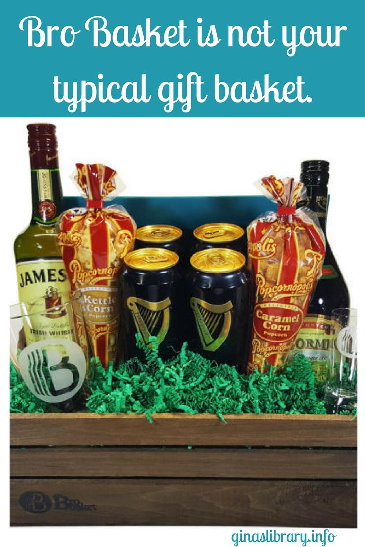 Gift baskets are a great go-to gift for any occasion. Bro Basket is perfect for Father's Day.
