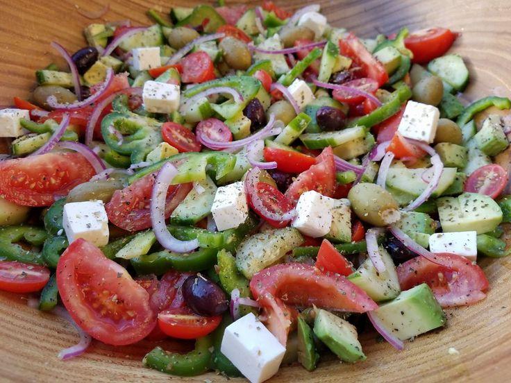 Mediterranean Chop-Chop Salad | Clean Food Crush | Bloglovin'
