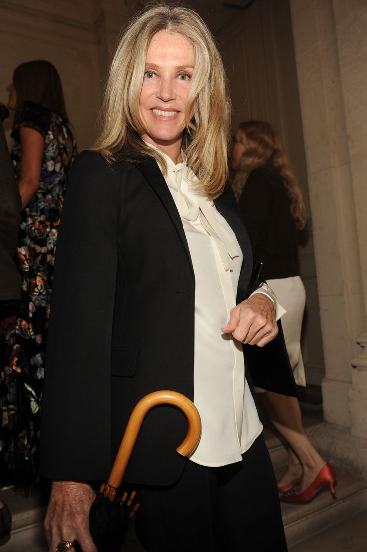 Charlene Shorto de Ganay at the Haute Couture Fall/Winter 2014-15 show in Paris, the 9th of July 2014