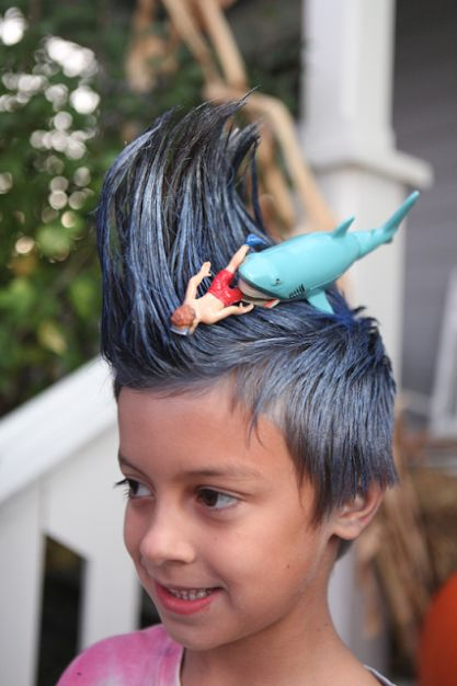 crazy hair day ideas boys