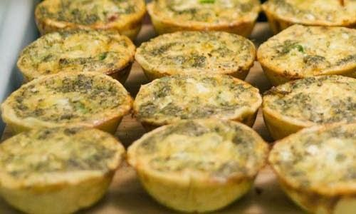 Tasty #Cup_Quiches.  Click For Recipe