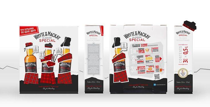 TheBestPackaging.ru – White&Mackay – промо-упаковка виски от Wellhead