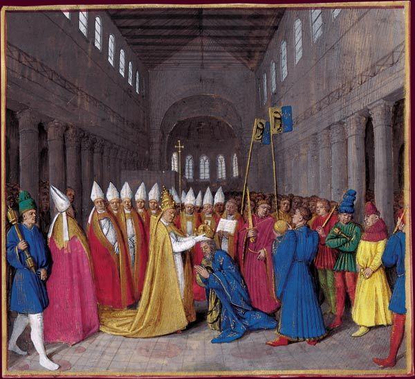 BnF - Treasures carolíngia, manuscritos Carlos Magno para Carlos, o Calvo