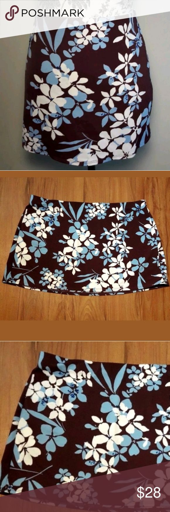 Victoria's Secret Swim Skirt Cover Up Size Large Victorias Secret   Beautiful Swim Skirt Bathing Suit Cover Up Wine/Blue/White Floral Size Large. Perfect for any day at the beach. A Must Have!  Pre-owned in Excellent condition  Please view all images  Thank you for Looking & Sharing Happy Poshing😄 Victoria's Secret Swim Coverups