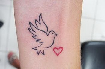 fullbody-tattoos: Dove Tattoo Meaning
