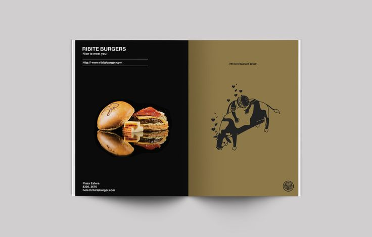 Ribite Burgers Plaza Esfera on Behance