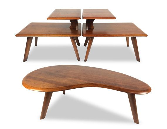Kidney Bean Shaped Table Desk Vintage Kidney Bean Desk