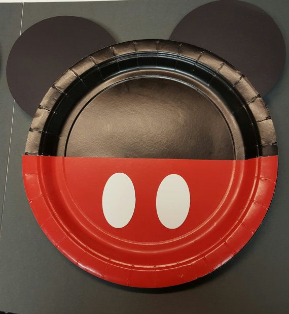 Minnie mouse party plates/ Minnie mouse party por Cre8iveDesignss