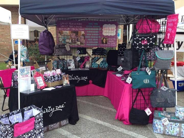 Beautiful vendor display! https://www.mythirtyone.com/sherrieJordan  SherrieSJordan@yahoo.com
