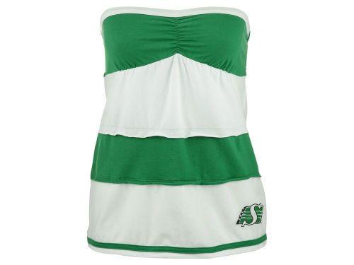 Saskatchewan Roughriders Klutch College CFL Women's Rebound Tube Top Shirt from Jersey City