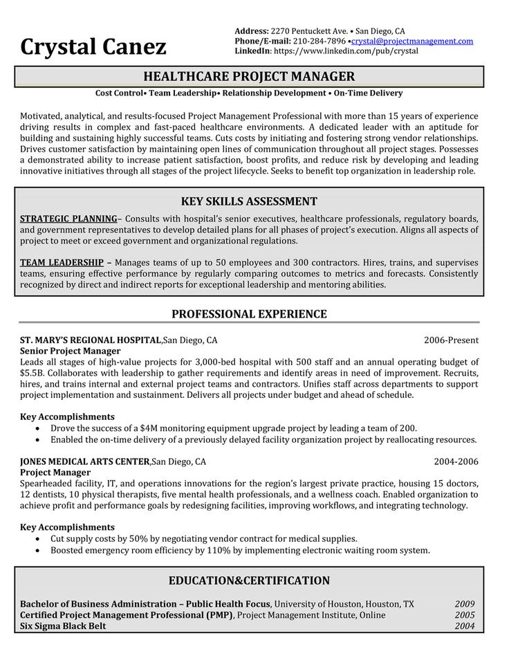 10 best professional resume samples images on pinterest