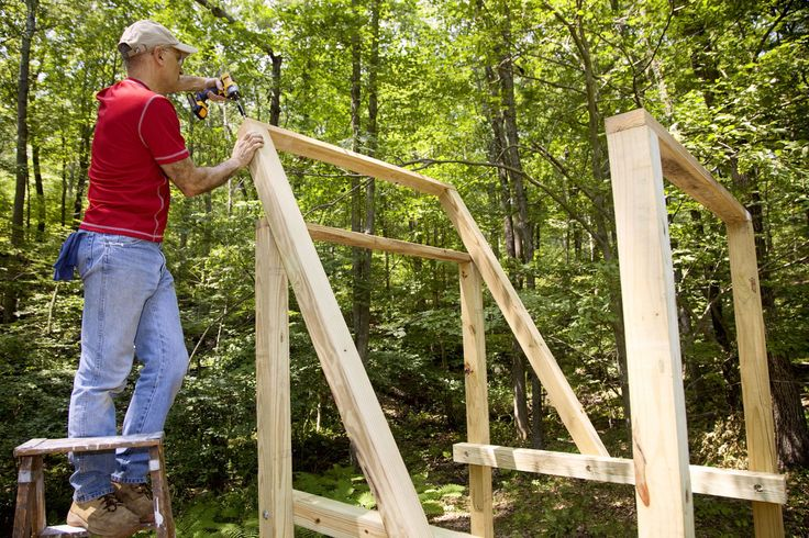 How to Build This Wooden Swing Set