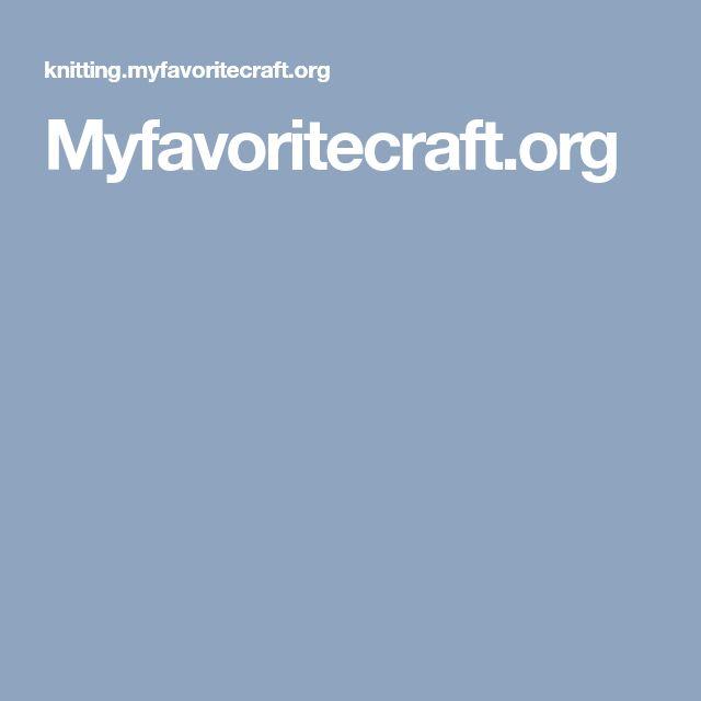 Myfavoritecraft.org