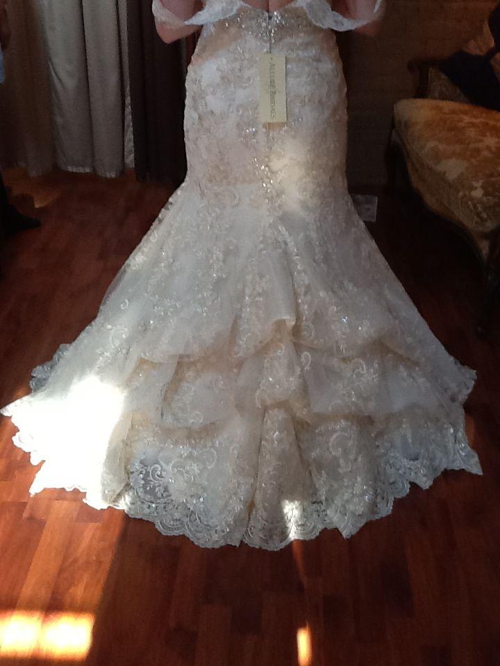 181 best wedding gown bustle styles images on pinterest bustle waterfall bustle solutioingenieria Gallery