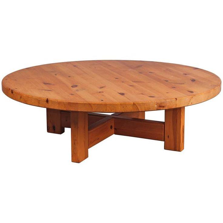 Roland Wilhelmsson Pine Coffee Table | 1stdibs.com