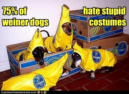 Weiner Dogs on oscar mayer weiner costume