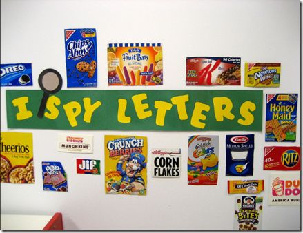 love this idea...could use as center with letter grid, students color in letters they see on the board