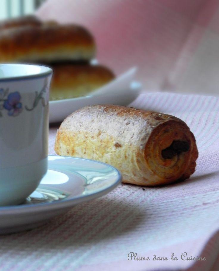 petit pain au chocolat a la farine complete