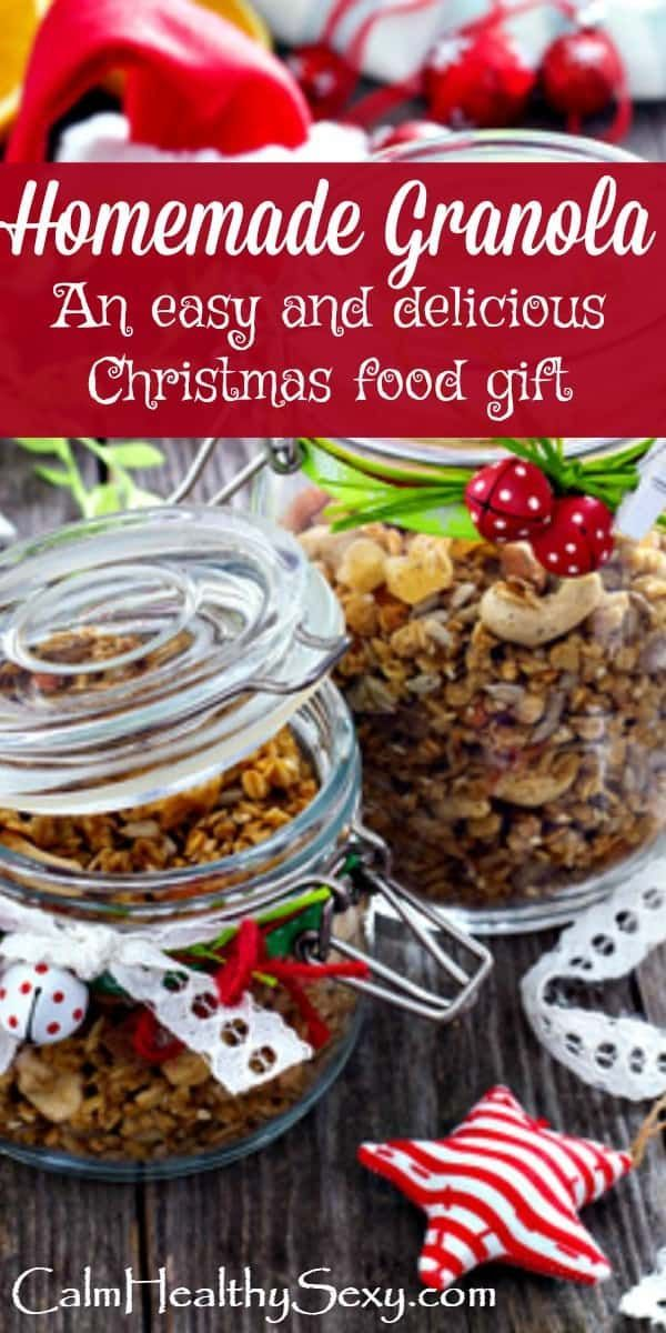 its is easy to make and package people love to receive it and its healthy includes recipe and packaging ideas christmas food gift christmas