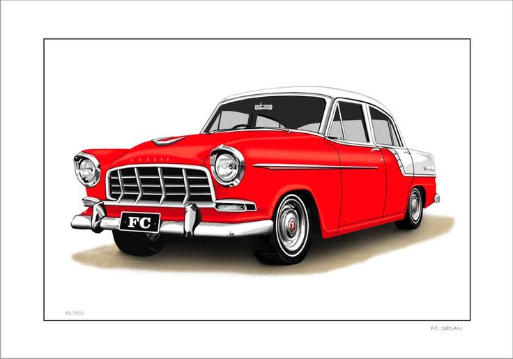 HOLDEN 59' FC SEDAN 138 LIMITED EDITION CAR PRINT AUTOMOTIVE ARTWORK | eBay