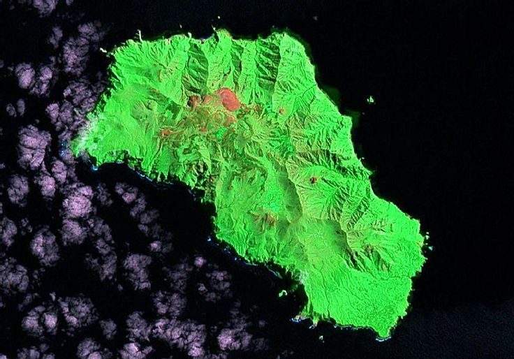 Gough Island Satellite map