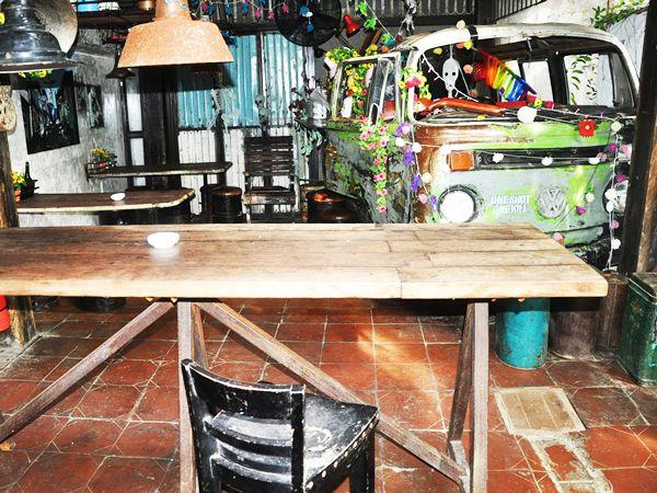 La Favela: hotspot with vintage design in Seminyak, Bali