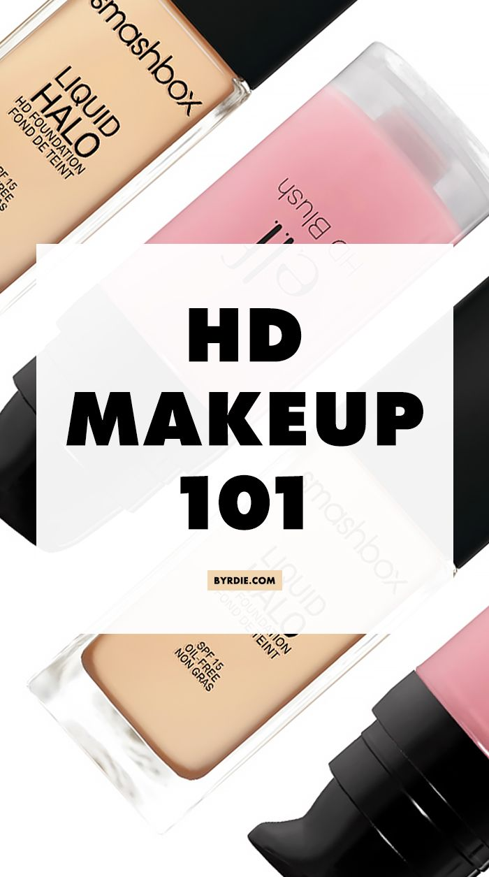 Everything you need to know about HD makeup