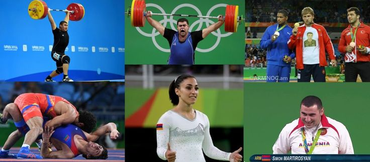 Armenia Finishes With Four Medals at Rio 2016 Olympics