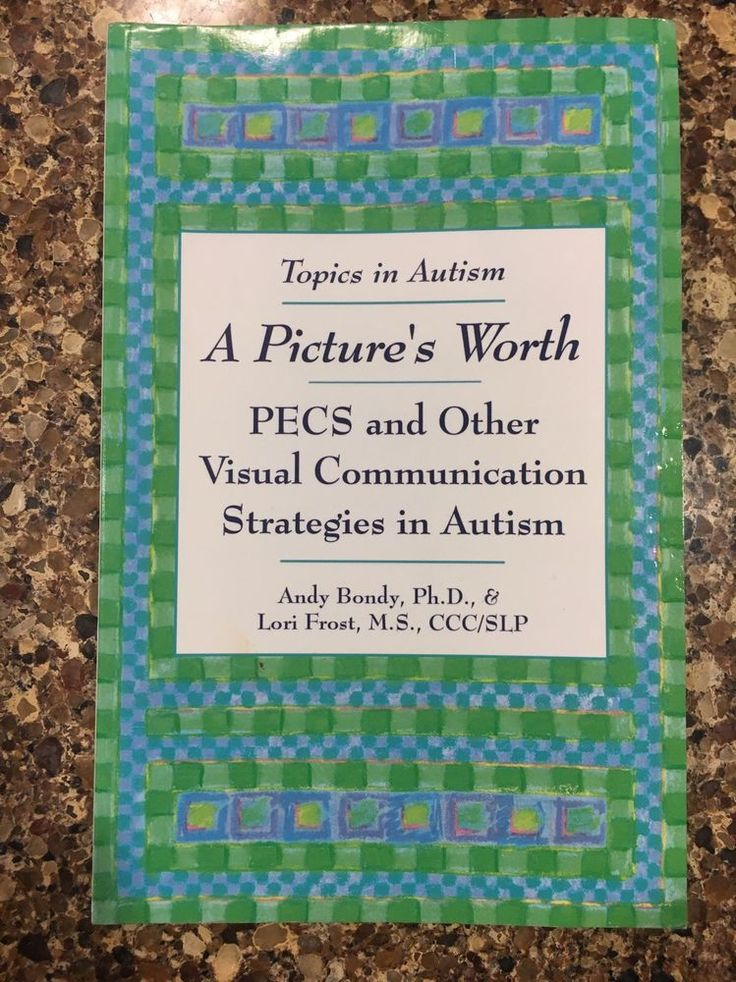A Pictures Worth PECS And Other Visual Communication Strategies In Autism Book #Paperback