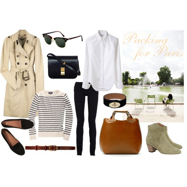 packing for paris by tomorrowatdawnx on Polyvore