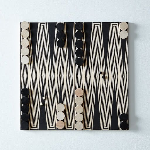 Fredericks U0026 Mae Travel Backgammon Set.
