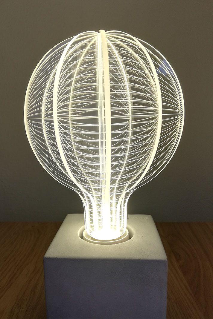 Out Of Space Led Leuchte Led Leuchten Led Papierlampen