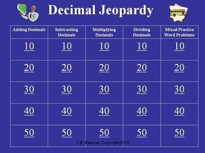 37 best Math images on Pinterest Classroom ideas, Teaching ideas - sample jeopardy powerpoint