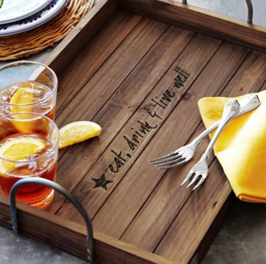 5 Handled Serving Trays For Entertaining Product Roundup